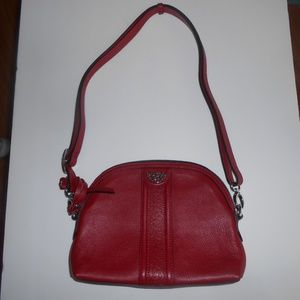 Brighton Red Crossbody Purse Style F783690